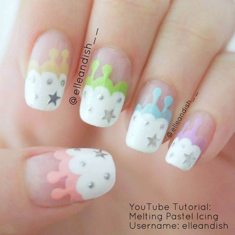 Water bubble christmas tree nails nail art by elleandish 600453 557397657643594 137379195 n thumb370f prinsesfo Image collections