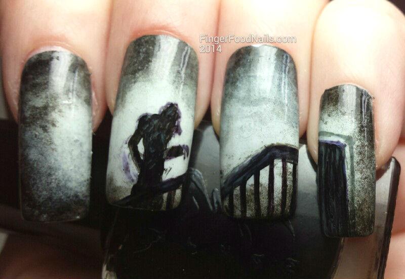 Nosferatu nail art by Sam