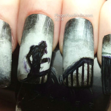 Nosferatu nail art by Sam