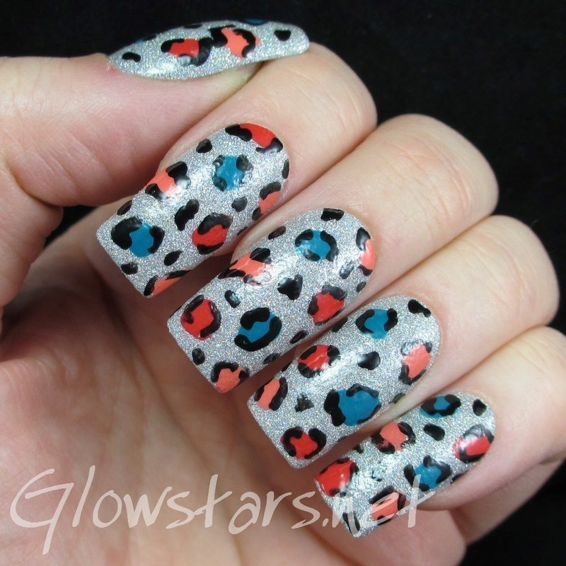The wonderful part of the mess that we made nail art by Vic 'Glowstars' Pires