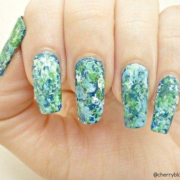 Earth Day Nail Art 2014! nail art by Cherry Blossom Nail Art