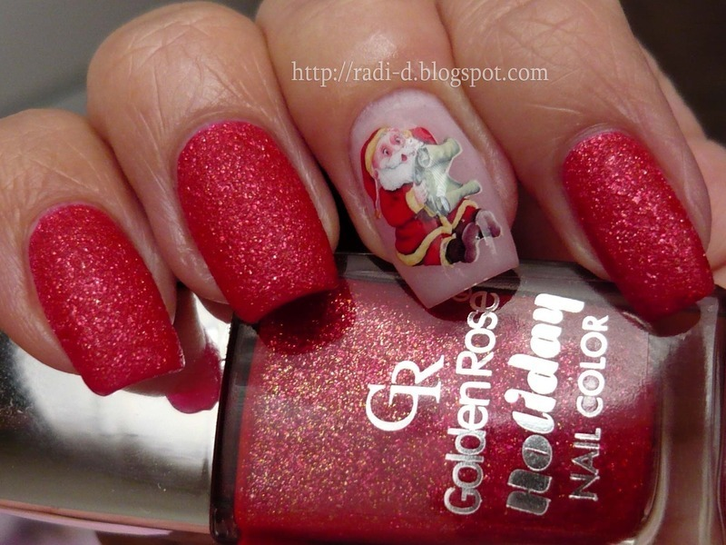 Golden Rose Holiday 56 Swatch by Radi Dimitrova