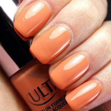 Ulta Salon Formula Peach Parfait Swatch by Emiline Harris