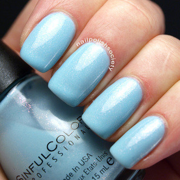 Sinful Colors Cinderella Swatch by Emiline Harris