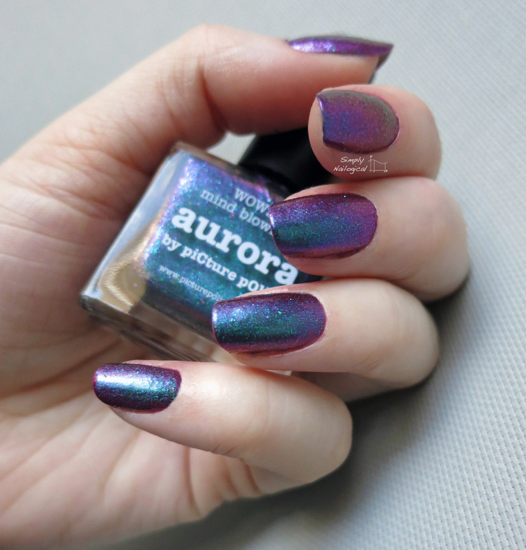 piCture pOlish Aurora Swatch by simplynailogical