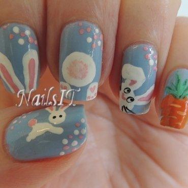 Easter 2014 nail art by NailsIT