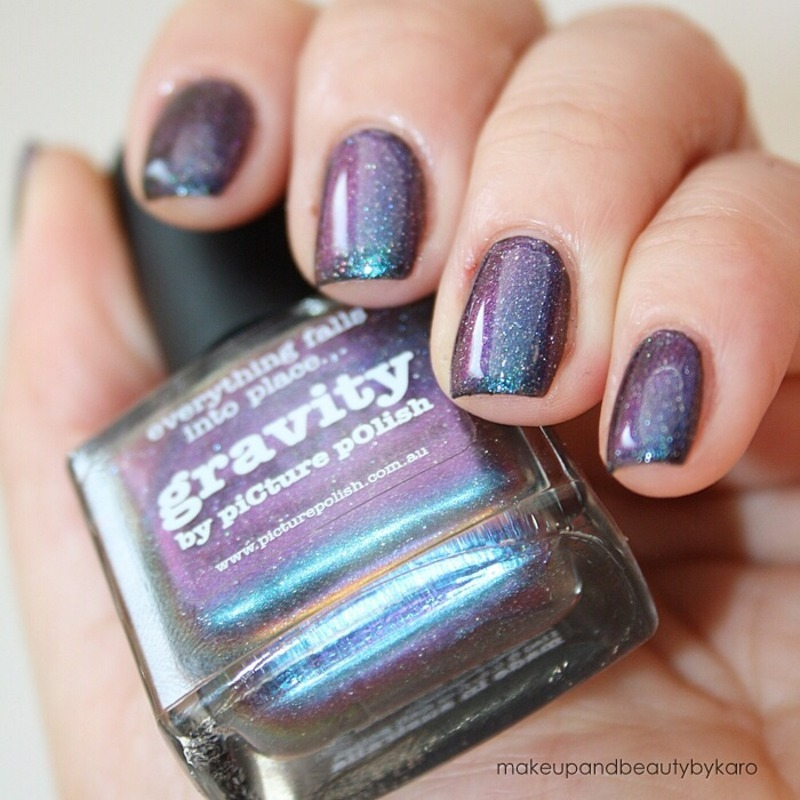 piCture pOlish Gravity Swatch by Karo