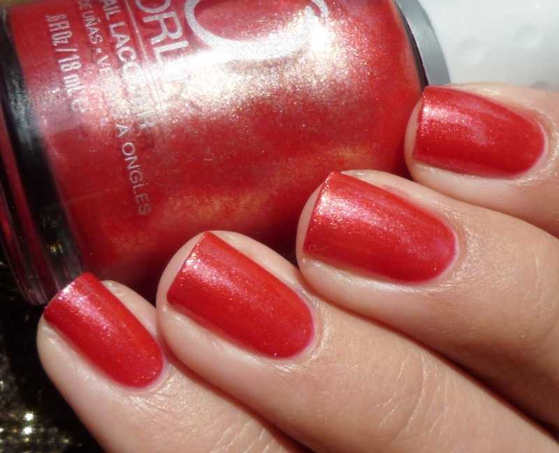 Orly Ruby Passion Swatch by Romana
