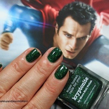 piCture pOlish Kryptonite Swatch by Karo
