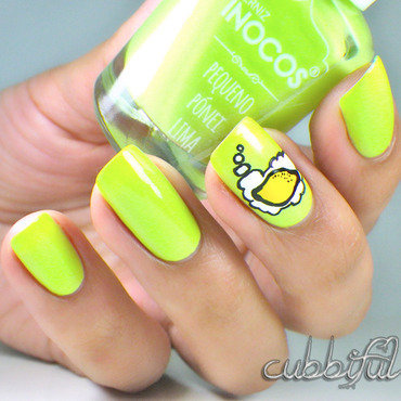 Make Lemonade! nail art by Cubbiful
