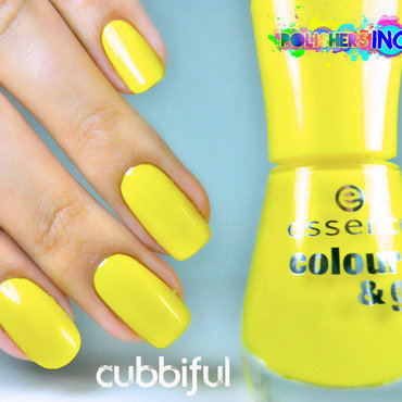 Essence Colour & Go Wanna Be Your Sunshine Swatch by Cubbiful