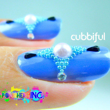 Macro Shot - POLISHER'S INC. - Texture Nails  nail art by Cubbiful