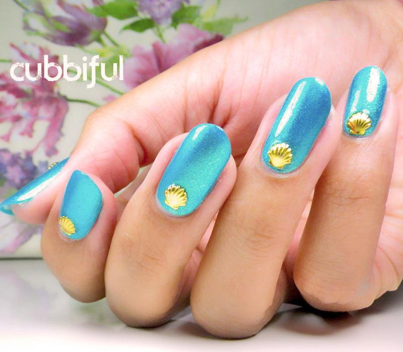 New Nail Shape! nail art by Cubbiful - Nailpolis: Museum of Nail Art
