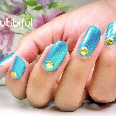 New Nail Shape! nail art by Cubbiful