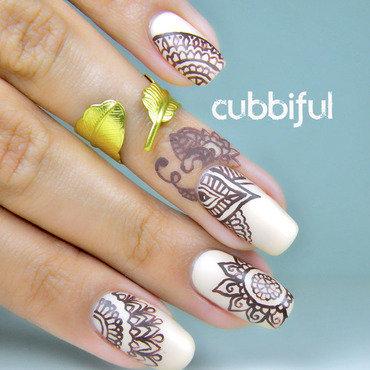 Mani Swap With Nailrotica(aka @lissamel9)  nail art by Cubbiful