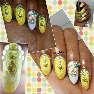 Yellow Fever nail art by Nails_Divine