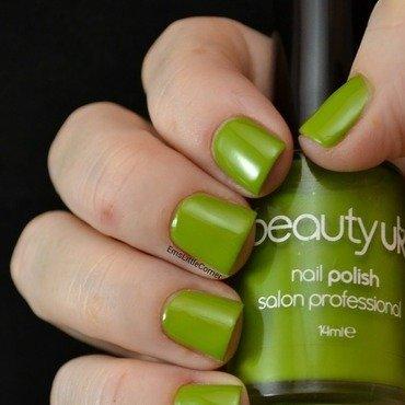 Beauty UK sage green Swatch by Emma B