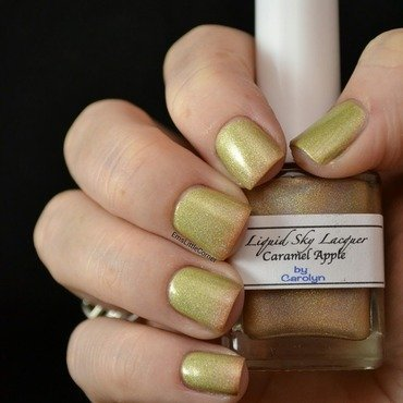 Liquid Sky Lacquer caramel apple Swatch by Emma B