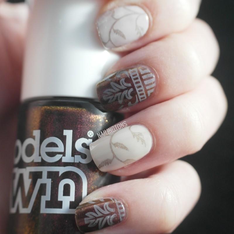 Regal Sheen nail art by Nailingtons