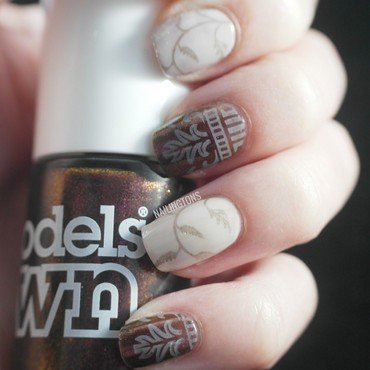 Regal Sheen nail art by Nailingtons