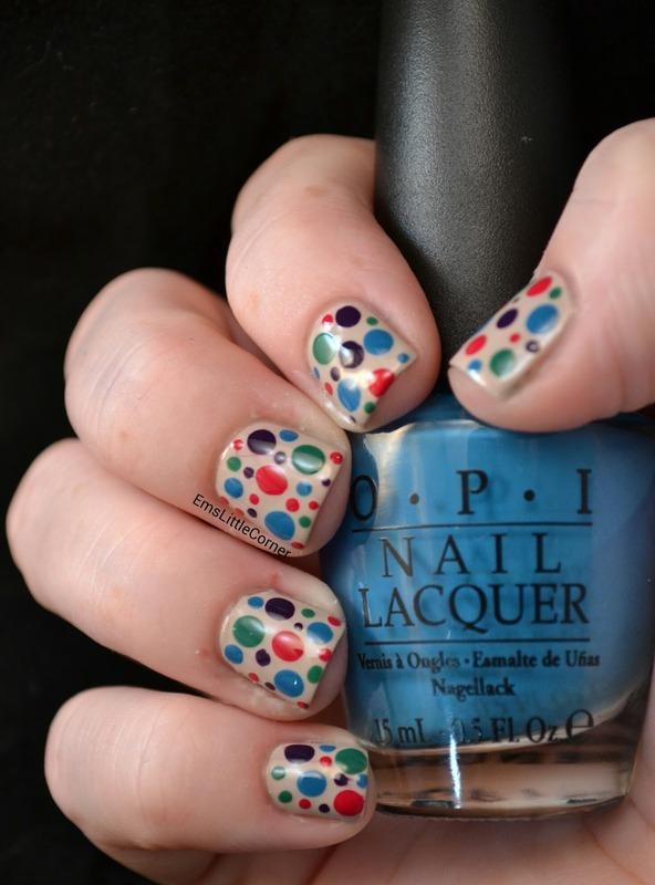 Dotticure nail art by Emma B