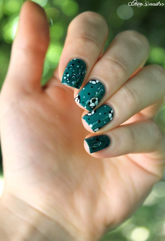 FIFA nails ! nail art by Cocosnailss