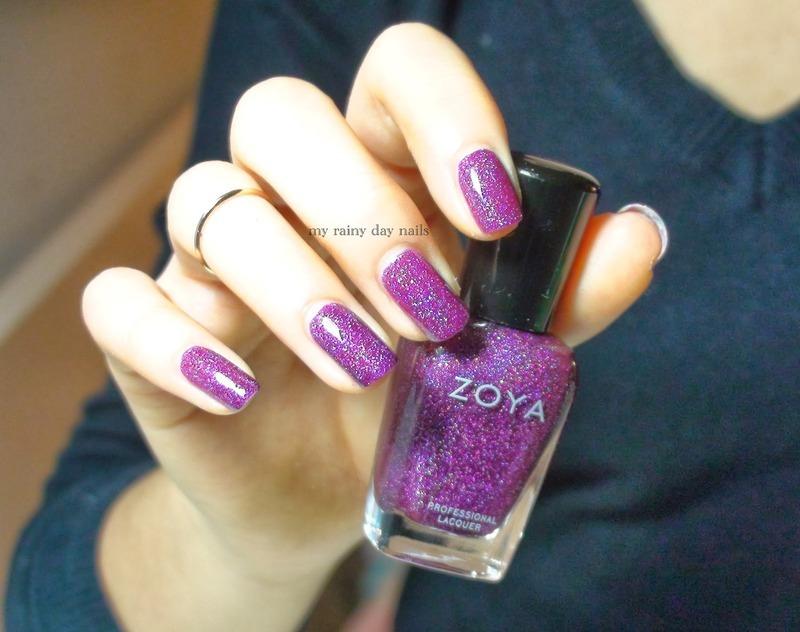 Zoya aurora Swatch by Nova Qi (My Rainy Day Nails)