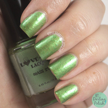Love a bull lacquer grass stains green swatch 3 thumb370f