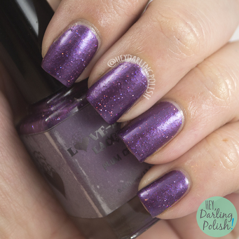 Love-A-Bull Lacquer Plum Crazy Swatch by Marisa  Cavanaugh
