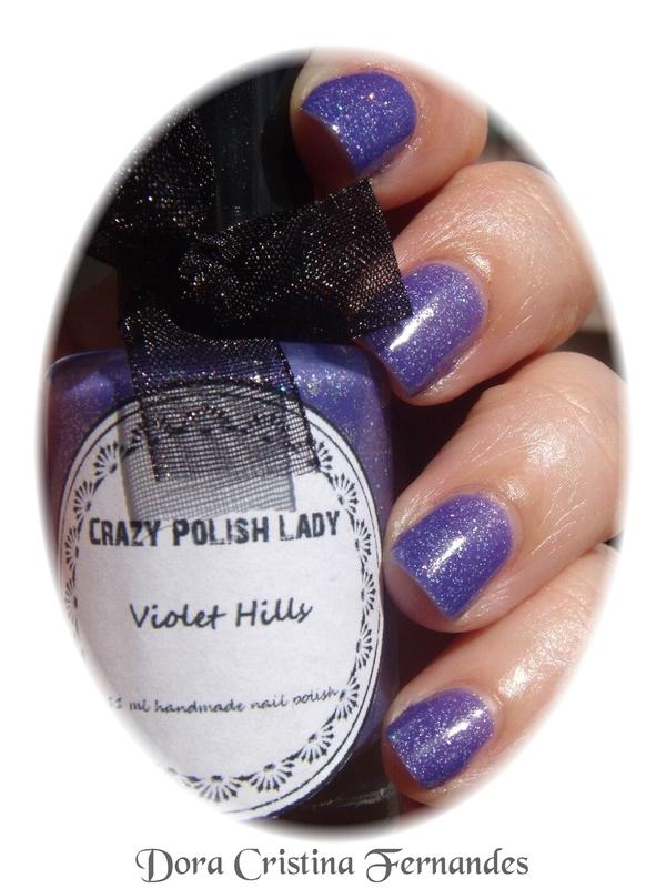 Crazy Polish Lady (Indie) Violet Hills Swatch by Dora Cristina Fernandes