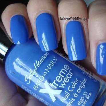 Sally Hansen Pacific Blue Original Swatch by IntensePolishTherapy Anita