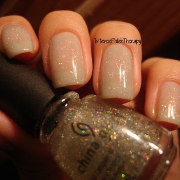 China Glaze Fairy Dust and OPI My Point Exactly! Swatch by IntensePolishTherapy Anita