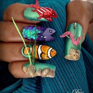 mine! mine! mine!! nail art by Dess_sure