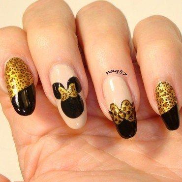 Minnie Gone Wild! nail art by Nora (naq57)