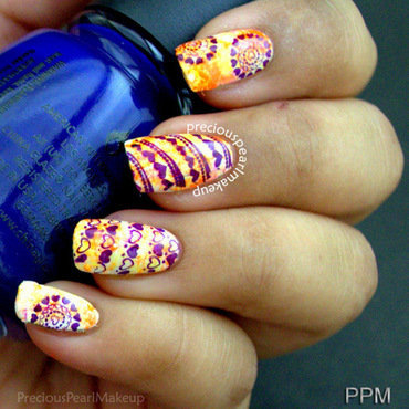 Purple 20and 20orange 20nail 20art 202 001 thumb370f