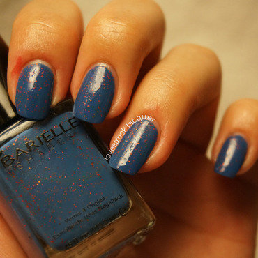 Barielle Falling Star Swatch by Stephanie L