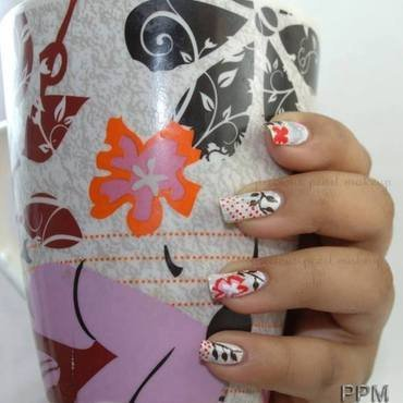 Cup of Inspiration nail art by Pearl P.