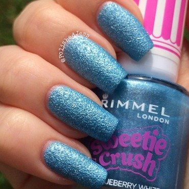 Rimmel London Blueberry Whizz Swatch by PolishedJess