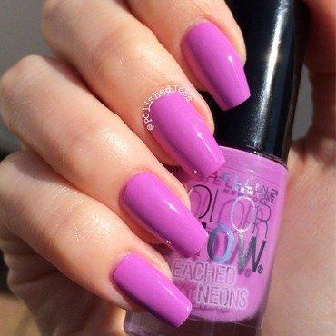 Mabelline New York Ultra Violet Swatch by PolishedJess