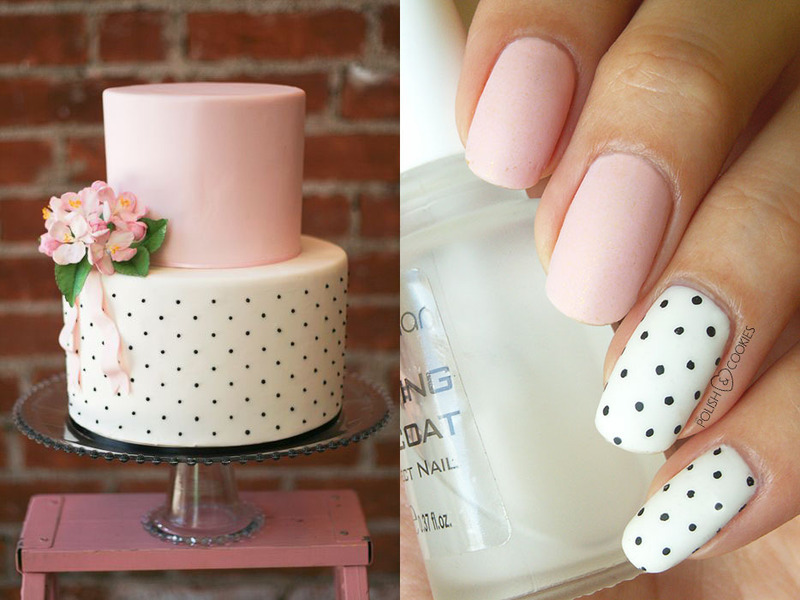 Inspired by a cake - part 01 nail art by PolishCookie