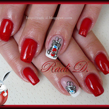 Easter Me To You nail art by Radi Dimitrova
