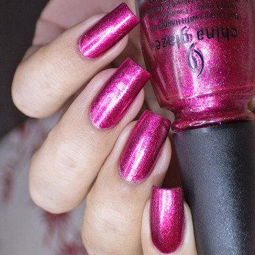 China Glaze Santa Red My List Swatch by Lizana Nails