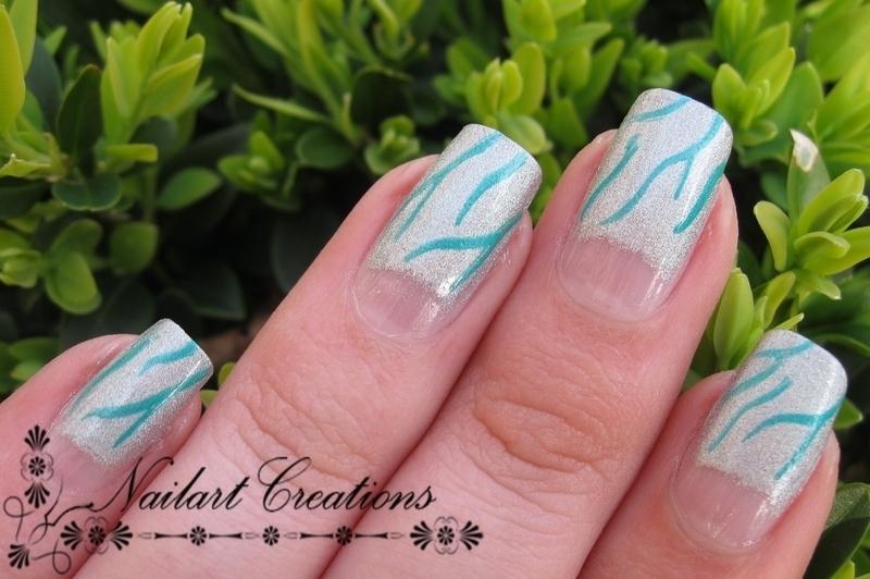 Holographic Moons nail art by Nailart Creations