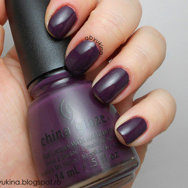 China Glaze Charmed, I'm sure Swatch by Aby