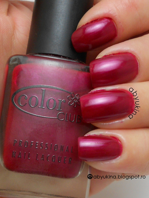 Color Club 285 Berry Dancer Swatch by Aby