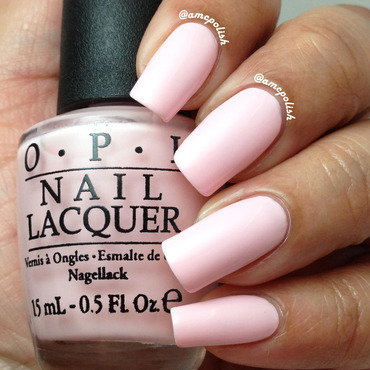 OPI I Love Applause Swatch by Amber Connor
