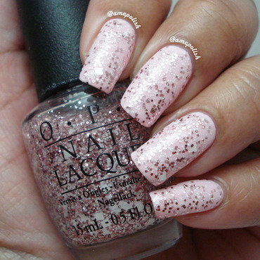 OPI Let's Do Anything We Want Swatch by Amber Connor