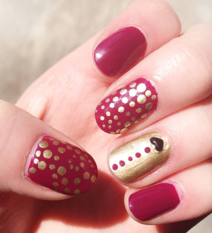 Tuxedo Dotticure nail art by Anya Qiu