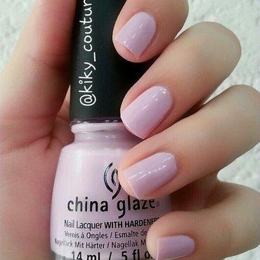 China Glaze In A Lily Bit Swatch by Ximena Echenique