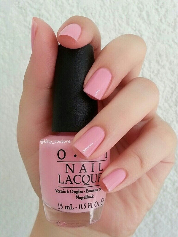 OPI Pinking of you Swatch by Ximena Echenique